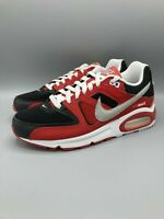 Nike Air Max Command Red White Black Silver men's Sneakers 629993-039 Size 8