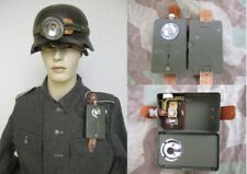 WEHRMACHT torcia elettrica 1944 Pertrix M Lampada Frontale 2° GUERRA MONDIALE