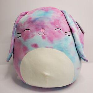 "Kellytoy Squishmallows Ryder Tie Dye 16"" Easter 2021 NWT HTF"