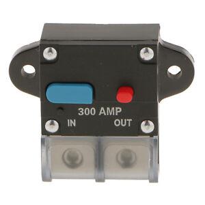 Car Truck Audio 250 Amp Amplifier Circuit Breaker Fuse Holder AGU Style 12V