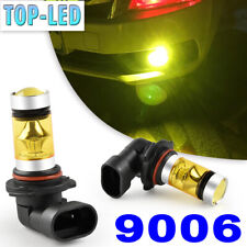 9006 HB4 3000K Yellow High Power LED Fog Driving Lights Bulbs Headlight Kit DRL