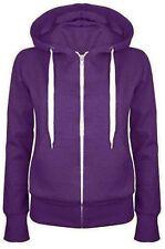 New Plain Mens American Fleece Zip Up Hoody  Sweatshirt Hooded Zipper Top S-XXXL