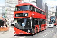 New bus for London - Borismaster LT226 6x4 Quality Bus Photo