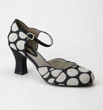 Ruby Shoo Block Spotted Heels for Women