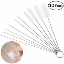 10pcs Tube Brushes Pipe Cleaning Brush for Drinking Straw Glasses Coffee Machine