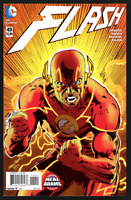 THE FLASH #49 DC COMICS NEAL ADAMS VARIANT COVER B