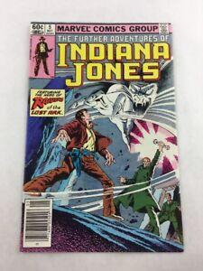 Further Adventures of Indiana Jones Vol 1 No 5 May 1983 Marvel Comic Book