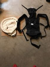Genuine Authentic Original Black Ergo Baby Carrier with infant insert Sling