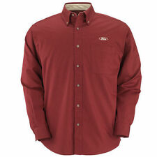 NEW FORD MEN'S EASY CARE STAIN RESISTANT BUTTON DOWN POCKET SIZE MEDIUM SHIRT!