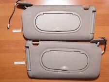 2005-2008 Pontiac G6 Driver & Passenger Sun visor Grey (Lighted Mirror)