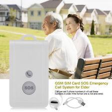 Telesoccorso GSM SIM SOS Anziani SOS Teleallarme Allarme Salvavita Antifurto