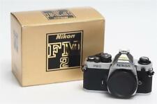 Nikon FM2N Chrome FM2 N  Body w. Box