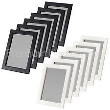 6 x IKEA FISKBO 13x18cm Photo Frames (Black or White)