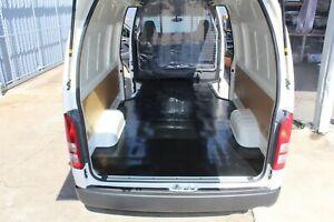 Toyota Hiace SLWB Rubber Van Mat April 2019 + Ribbed Rubber