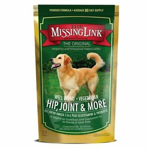Missing Link WELL BLEND PLUS Dog Glucosamine Joint Support Omega 3 and 6 - 1 lb