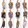 Womens Oversized Batwing Chiffon Blouse Ladies Tank Top 2 in 1 Plus Size