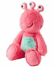 NWT Carters Plush Pink 3 Eyed Three Eyes Alien Monster Stuffed Baby Toy 67217