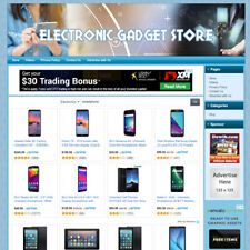 Electronic Gadgets Store Fully Functionally Online Business Website For Sale