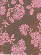 *NEW* PINK FLOWER FOIL WRAPPING PAPER 800ft., #309