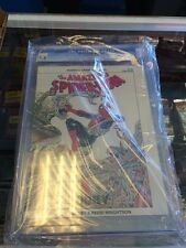 Spider-Man Hooky Marvel Graphic Novel 22 Cgc 9.6 White Pages!