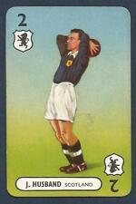 PEPYS INTERNATIONAL WHIST PLAYING CARD 1948 -#02-SCOTLAND-J.HUSBAND