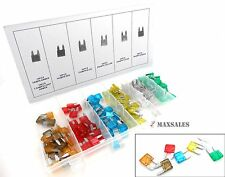 New 120pc Mini Assorted Car Fuse 5,10,20,30,7.5,15 & 25AMP.