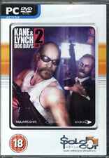 Kane & Lynch 2, Dog Days, PC game, XP,  Vista, 7, New
