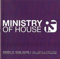 MINISTRY OF HOUSE VOLUME 4 - VARIOUS ARTISTS / 2 CD-SET / NEU