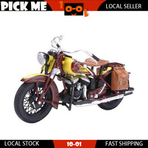 Indian Scout 1934 Sport Motorcycle 1:12 Scale Diecast Replica Model Collection