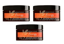 Bath & Body Works Aromatherapy Energy Orange Ginger Body Butter 3 Pack