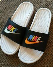 Nike Mens Beach Flip Flops Multi Coloured Size 8.5/9    multicolored  rare style