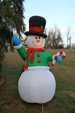 Gemmy Airblown Inflatable Frosty Snowman Yard Holiday Christmas Decor