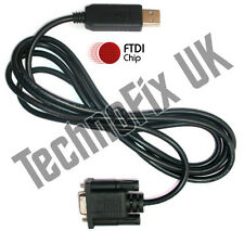 FTDI USB COM Cat control cable for Kenwood TS-480 TS-570 TS-870 TS-2000 TM-D700