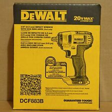 "Brand New DeWALT DCF883B 20V Li-Ion Cordless 3/8"" Impact Wrench w/ Hog Ring"