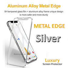 Screen Protector For Apple iPhone X - Tempered Glass 100% Genuine Metal New