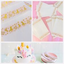 UNICORN Birthday Party Cake Paper Bags.Party loot Lolly Buffet Grease Proof MELB