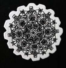 Parche Parches/Insignias Bordado Coser en flor mandala budista/símbolo hindú