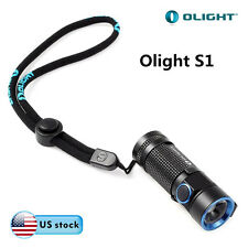Olight S1 Baton Cree XM-L2 CW LED 500lm Compact EDC Flashlight IPX8 Waterproof