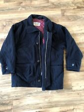 Domani Uomo Mens Large Outerwear Jacket Coat Thermal Quilt Lined Wool Cashmere