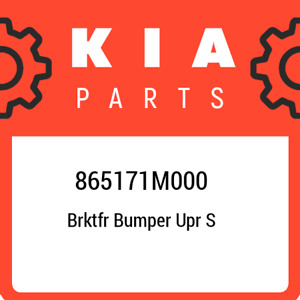 865171M000 Kia Brktfr bumper upr s 865171M000, New Genuine OEM Part