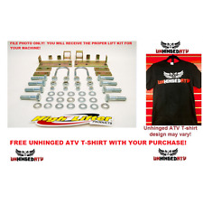 "3"" Signature Series lift kit and free Unhinged ATV Shirt  Arctic Cat 550/650/700"