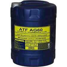 10 Liter Original MANNOL Automatikgetriebeöl ATF AG60 Getriebe Öll Gear Oil
