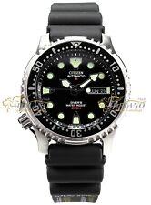 Citizen NY0040-09E Promaster Aqualand Automatic Gomma Nero ISO 6425 Sub Uomo