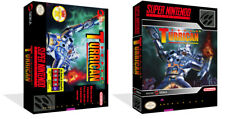 Super Turrican SNES Replacement Game Case Box + Cover Art work (No Game)