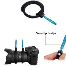 Adjustable Flexible Gear Ring Belt W/Hand for DSLR Camera Follow Focus Zoom Lens