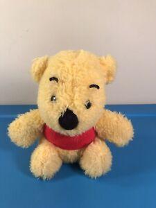 "Vintage Sears Walt Disney Productions 7"" Winnie the Pooh Plush Bear"