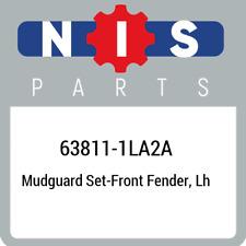 63811-1LA2A Nissan Mudguard set-front fender, lh 638111LA2A, New Genuine OEM Par