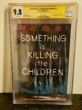 Something is Killing the Children #1 CGC 9.8 SS Signed James Tynion Boom Comics