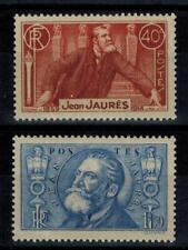 (a10) timbres France n° 318/319 neufs** année 1936