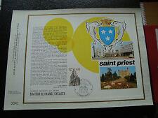 FRANCE - document 17/7/1981 (etape tour de france saint-priest) french